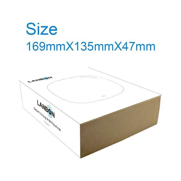 Lanbon WiFi ovládač TV, HiFi, klimatizácie s IR, séria L6, čierny 1