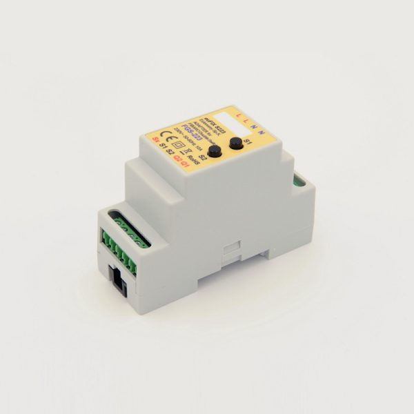 eutonomy-adapter-din-for-fibaro-double-switch-fgs-223-with-buttons