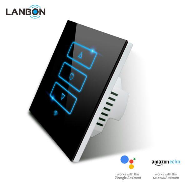 Lanbon - dotykový stmievač s WiFi, séria L6, čierny