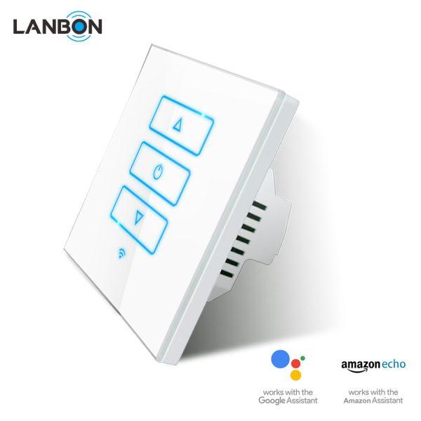 Lanbon - dotykový stmievač s WiFi, séria L6, biely