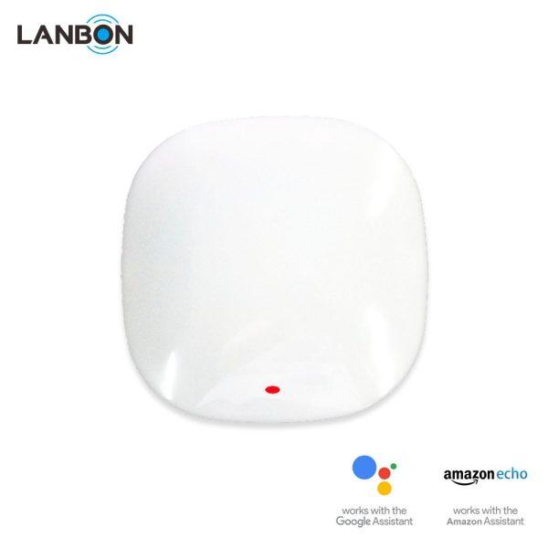 Lanbon - WiFi ovládač TV, HiFi, klimatizácie s IR (biely)
