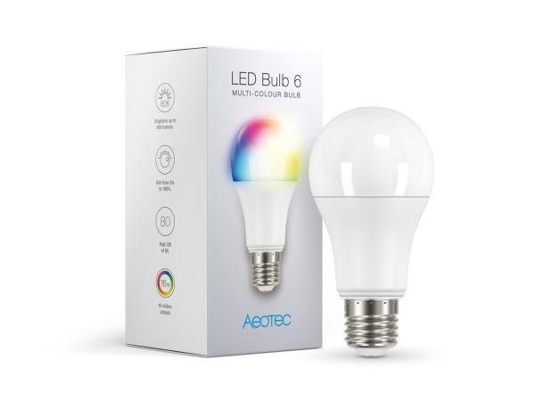Aeon Labs LED žiarovka 6 - viacfarebná