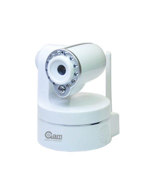 Neo NIP-09L2J otočná HD IP kamera s WiFi a LAN, biely