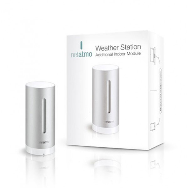 WiFi – NETATMO dodatočný modul pre meteostanicu