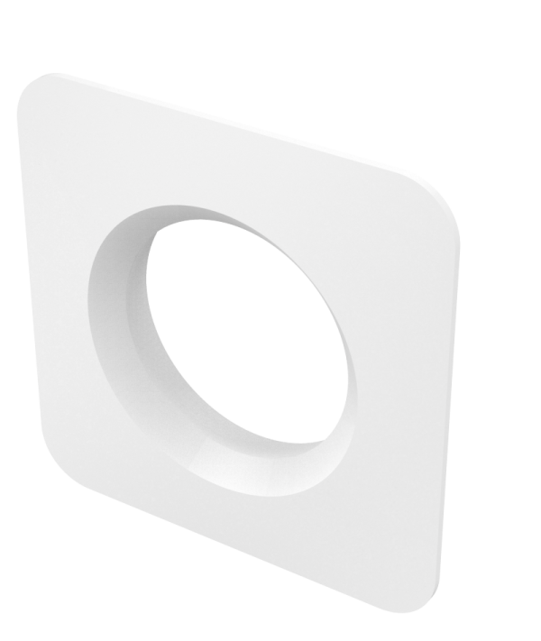 Philio - Recessor pre vonkajší senzor, štvorcový