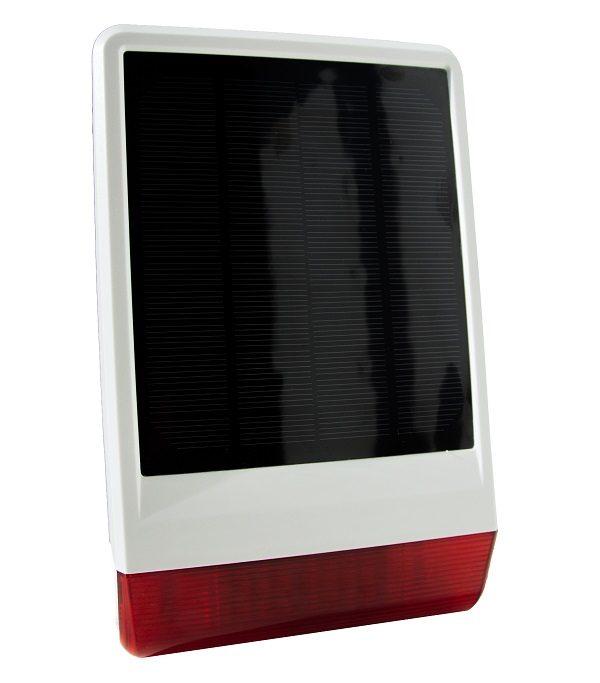Popp vonkajšia outdoor solárna siréna na alarm 2