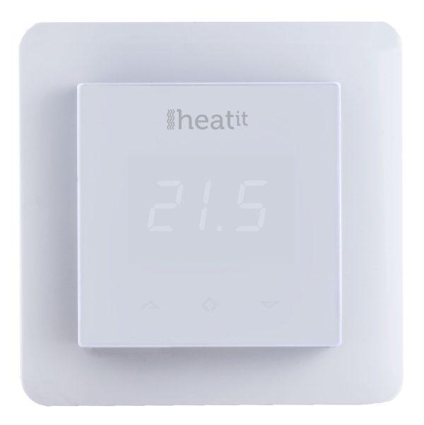 HeatIt digitálny termostat na podlahové kúrenie, biely