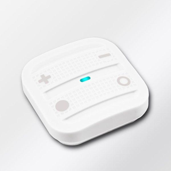 NodOn prenosný diaľkový ovládač - 4 tlačidlá, Cozy biely