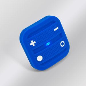 NodOn prenosný diaľkový ovládač - 4 tlačidlá, Tech modrý