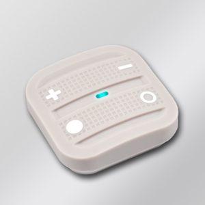 NodOn prenosný diaľkový ovládač - 4 tlačidlá, Cozy sivý