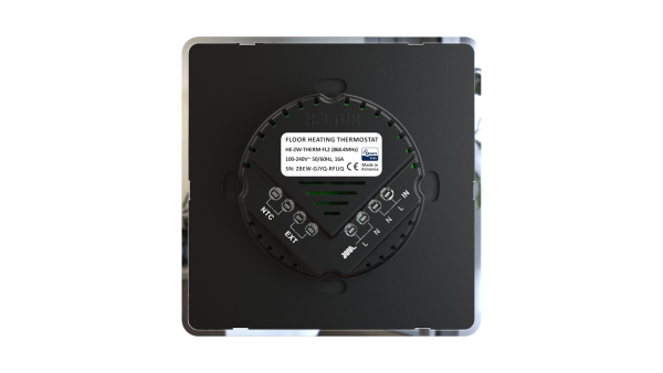 Heltun dotykovy termostat na podlahove vykurovanie HE-HT01 - Back