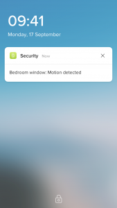 Netatmo tags senzor dveri a okien