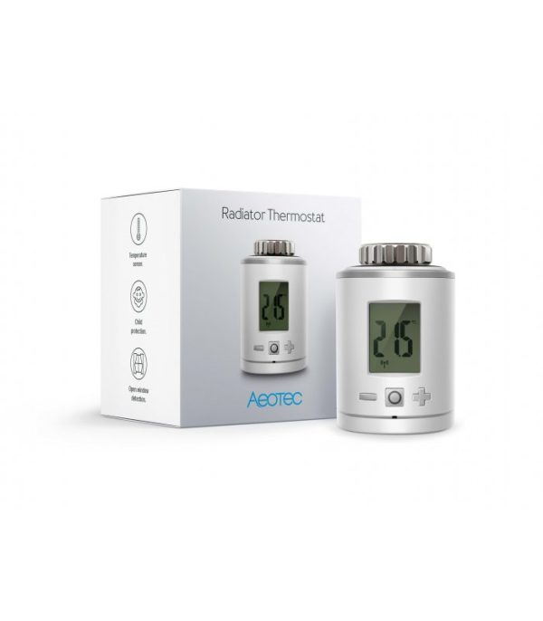 image-AEOTEC Radiator Thermostat - Termostatická hlavica