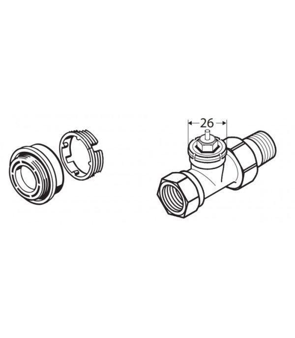image-Danfoss Adaptér RAV & RAVL (014G0250)