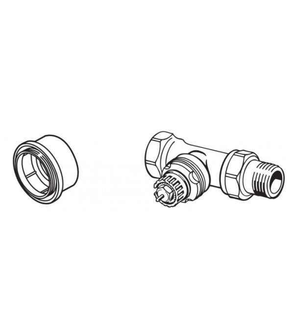 Danfoss adaptér pre ventily typu RTD