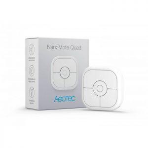 image-Diaľkový ovládač - AEOTEC NanoMote Quad