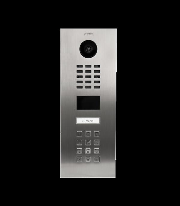 DoorBird D2101KV Videovrátnik, nehrdzavejúca oceľ, zapustený, 1 meno