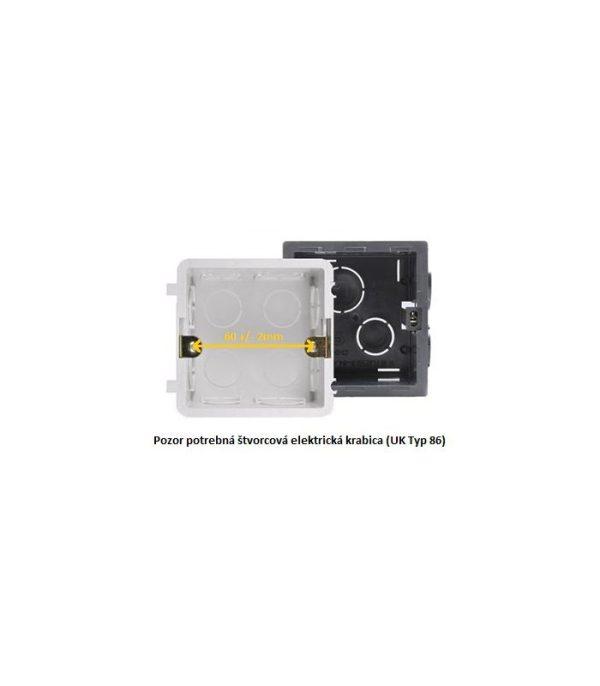image-MCO Home Nástenný dotykový panel GEN5 (2 tlačidlá)