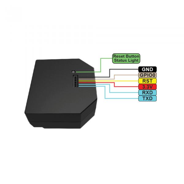 image-Shelly 2.5 - spínací/žalúziový modul s meraním spotreby 2x 10A (WiFi)