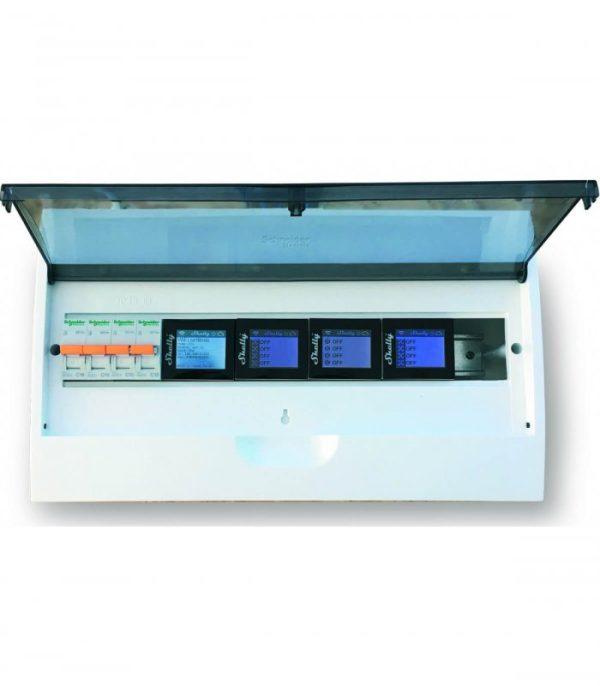 image-Shelly 4PRO - spínací modul na DIN lištu 4x 10A (WiFi)