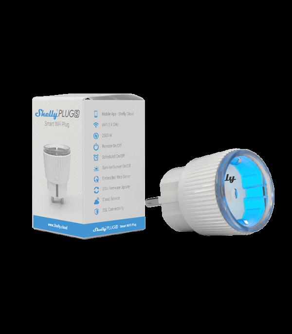 image-Shelly Plug S - inteligentná zásuvka s meraním spotreby (WiFi)