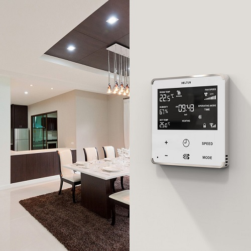 heltun-z-wave-fan-coil-thermostat-white-glass-and-frame