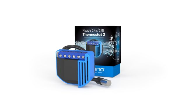 Qubino On / Off termostat 2 s funkciou merania spotreby