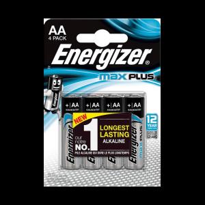 Energizer AA-LR6 alkalická batéria, 1,5V, 4ks