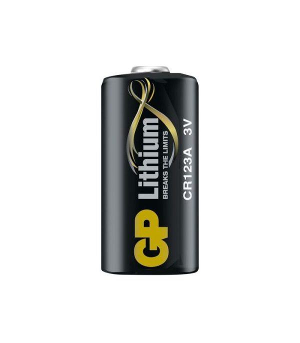 GP CR123A lítiová batéria, 3V, 1 ks