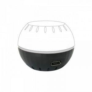Shelly USB modul pre napájanie HT senzora, čierny