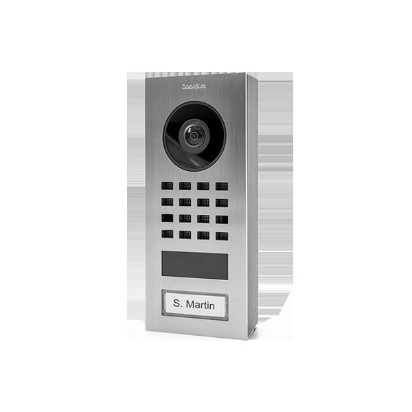 DoorBird D1101V videovrátnik, nehrdzavejúca oceľ, na povrch, 1 meno