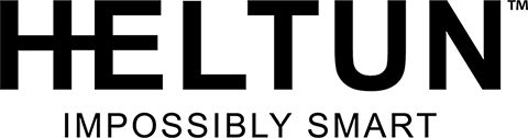 HELTUN logo black