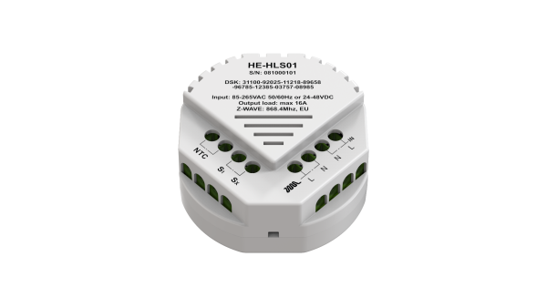 Heltun-High-Load-Switch-Z-Wave-spinacie-rele-16A-HE-HLS01 - Back inclination