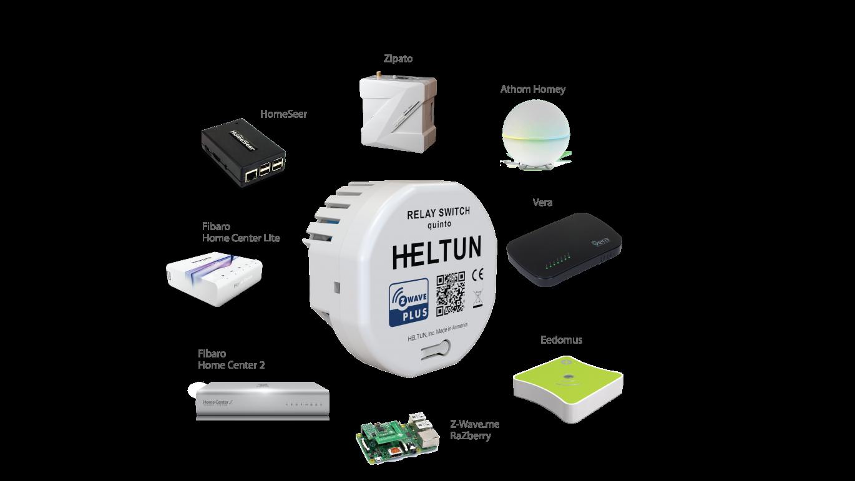 Heltun High Load Switch, Z-Wave spínacie relé do 16A 1