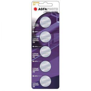 AgfaPhoto CR2450 lítiová batéria, 3V, blister 5ks