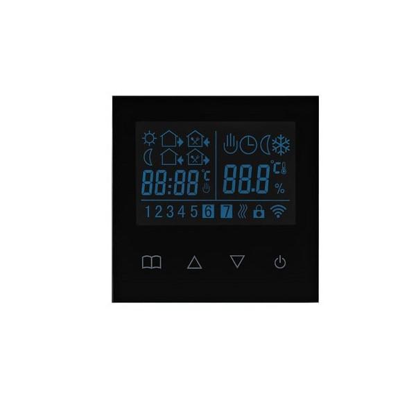 TKB dotykovy termostat pre podlahove kurenie cierny
