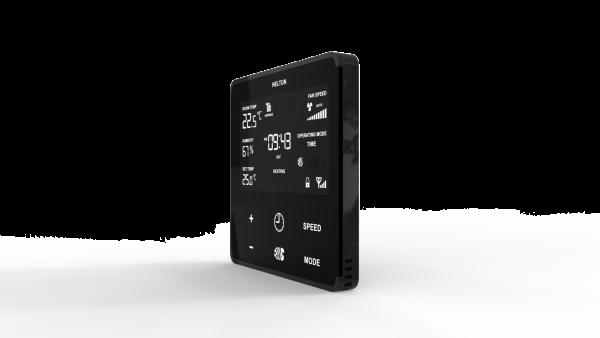 Heltun dotykový fan-coil termostat Zwave 700 cierny-10