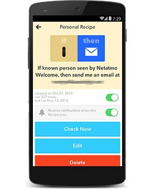 Automaticky dostanete email s obrázkom, ak Netatmo Welcome kamera deteguje neznámu tvár