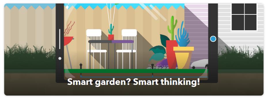 ifttt-applet-chytra-zahrada