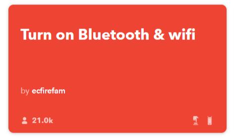 ifttt-applet-zapni-bluetooth-wifi