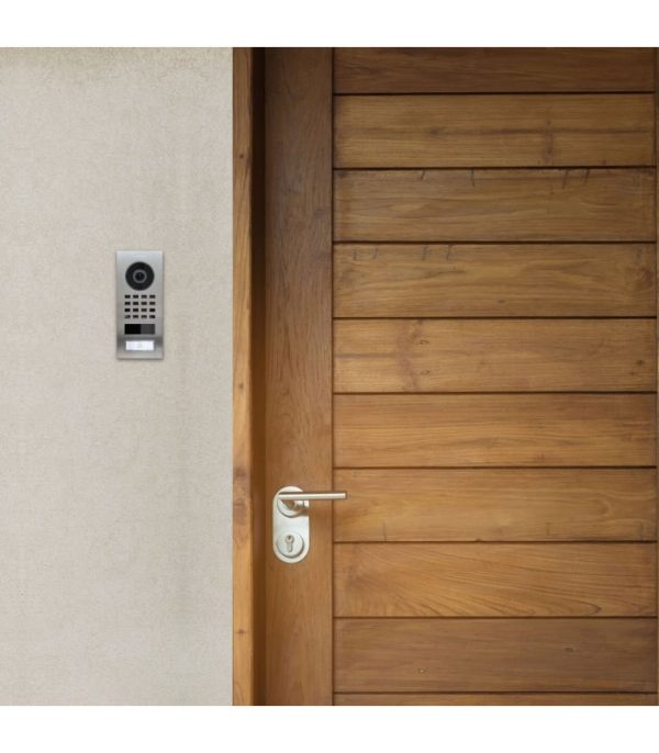 DoorBird D1101V videovrátnik, nehrdzavejúca oceľ, zapustený, 1 meno