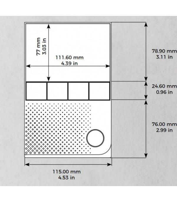DoorBird A1101 vnútorná IP displejová jednotka