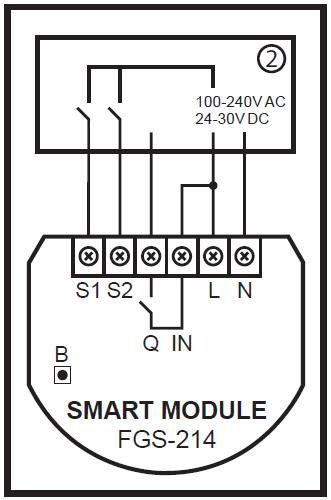Fibaro-Smart-Module-wiring-schema-zapojenia
