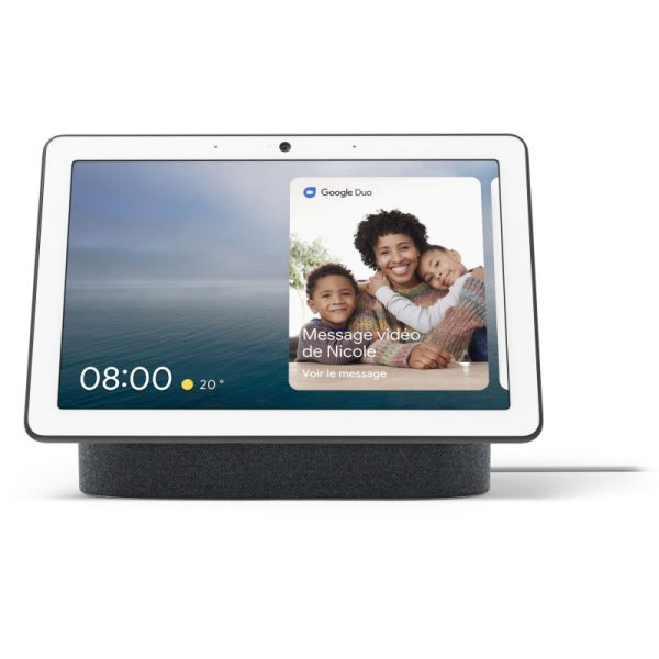google-nest-intelligent-speaker-with-display-google-nest-hub-max-charcoal