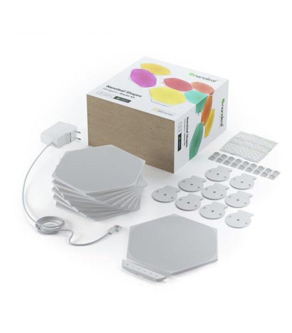 Nanoleaf Shapes Hexagons Starter Kit (9 Panelov)