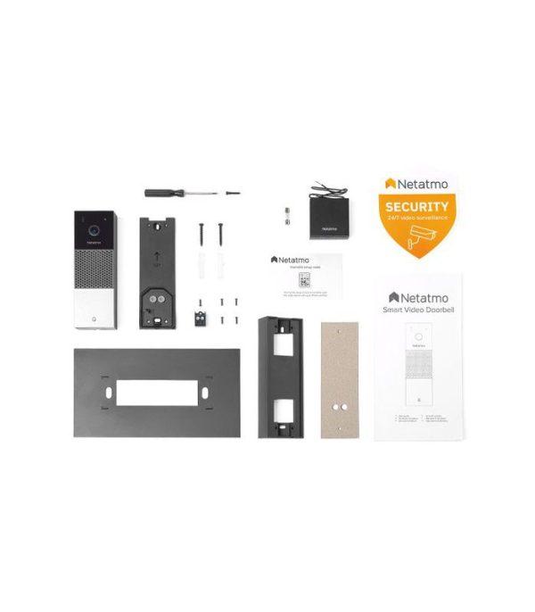 Netatmo Smart Video Doorbell, chtrý videozvonček