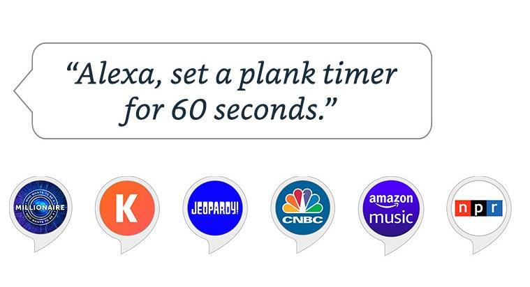 Alexa set timer banner