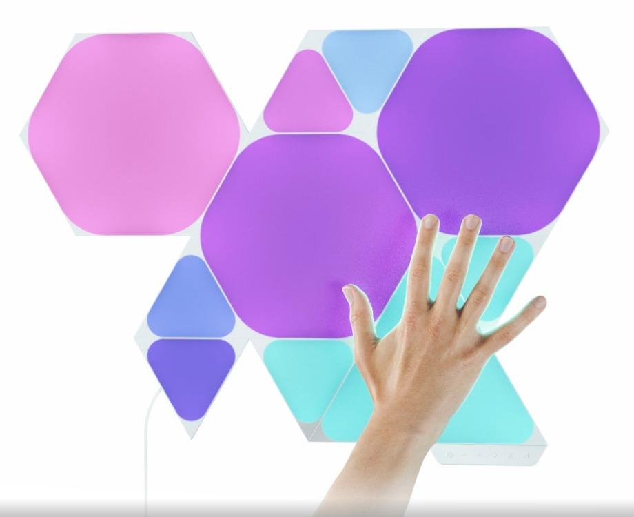 Nanoleaf shape triangles