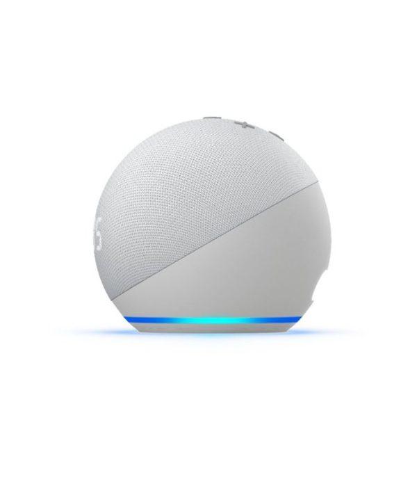 Amazon Echo Dot 4. generácie s hodinami, Glacier White