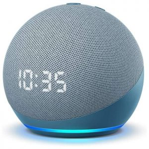 Amazon echo dot 4 s hodinami